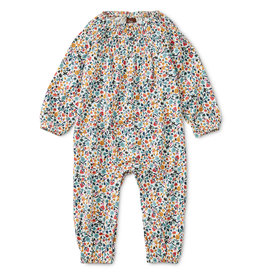 Tea Collection Sunrise Floral Smocked Romper