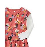 Tea Collection Himalayan Blossoms Pocket Dress