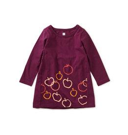 Tea Collection Golden Apples Baby Dress