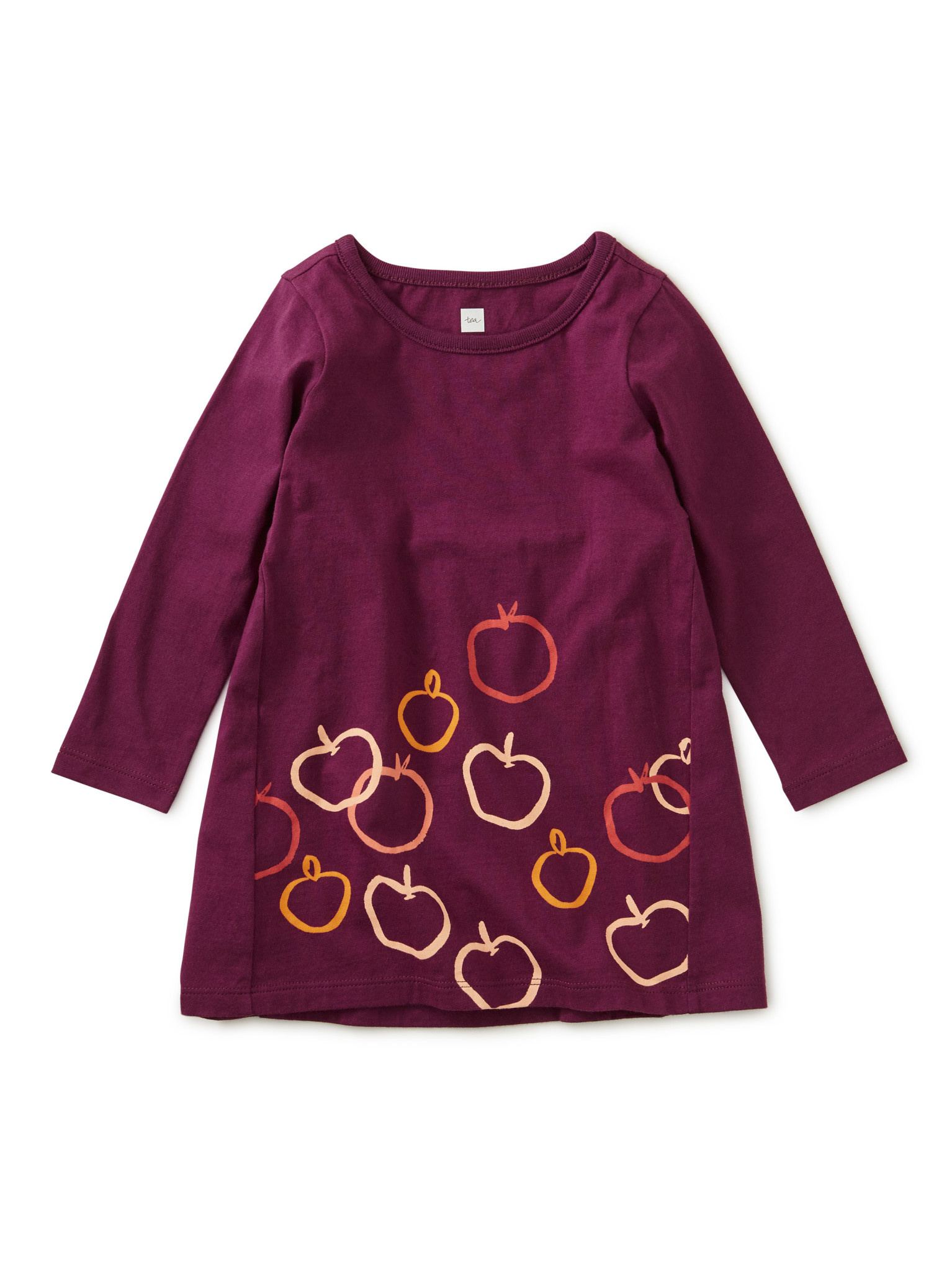 Tea Collection Golden Apples Baby Dress