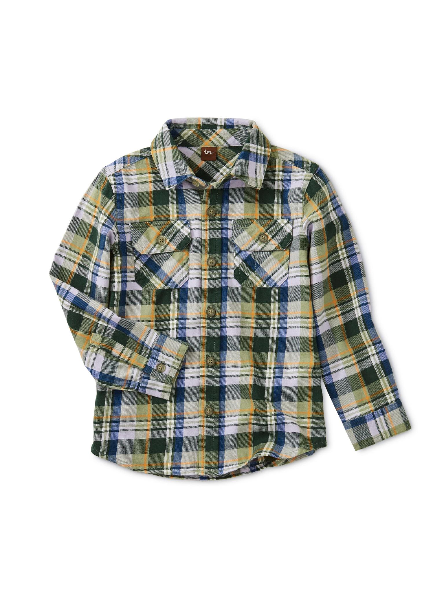 Tea Collection Everest Plaid Shirt