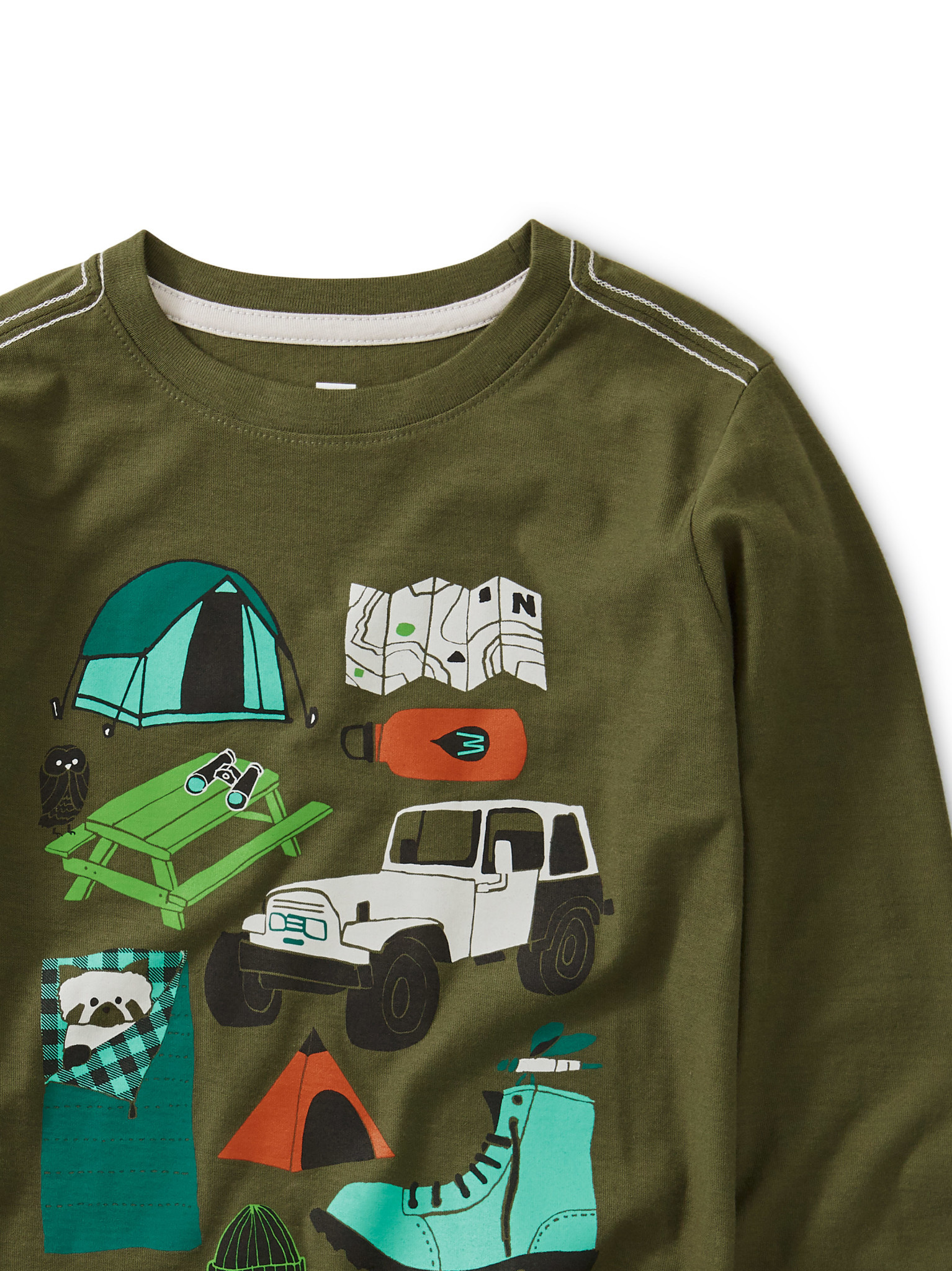 Tea Collection Camp Collage Tee