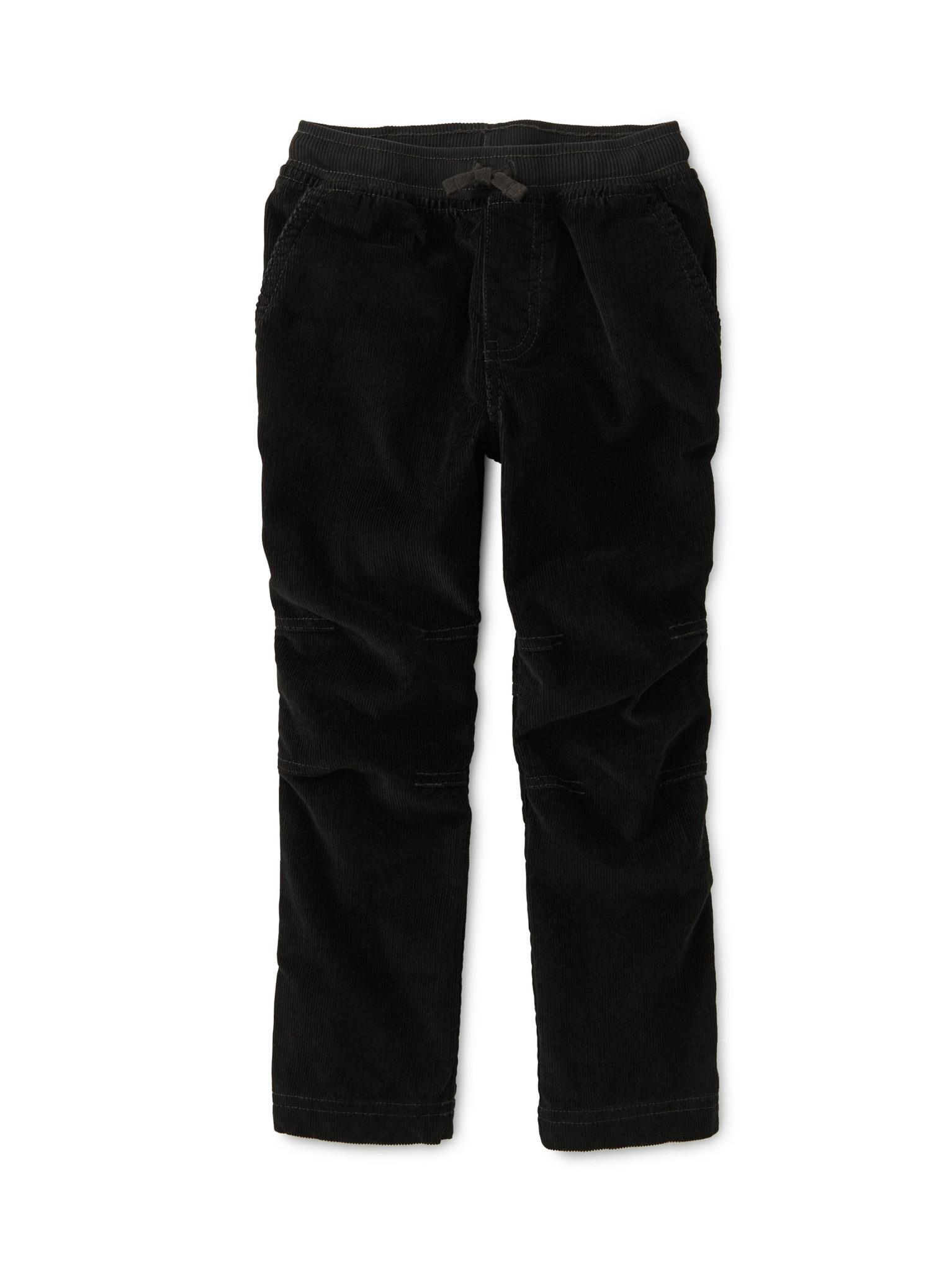 Tea Collection Black Corduroy Easy Pants