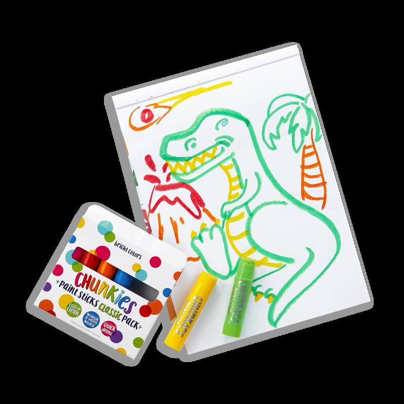 Ooly Chunkies Paint Sticks - Classic (Set of 6)