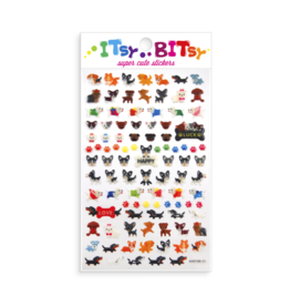 Ooly Itsy Bitsy Stickers - Pooches