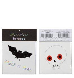 Meri Meri Bat & Skull Tattoos