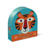 Crocodile Creek Tiger Friends - Two-Sided 24 Pc Puzzle