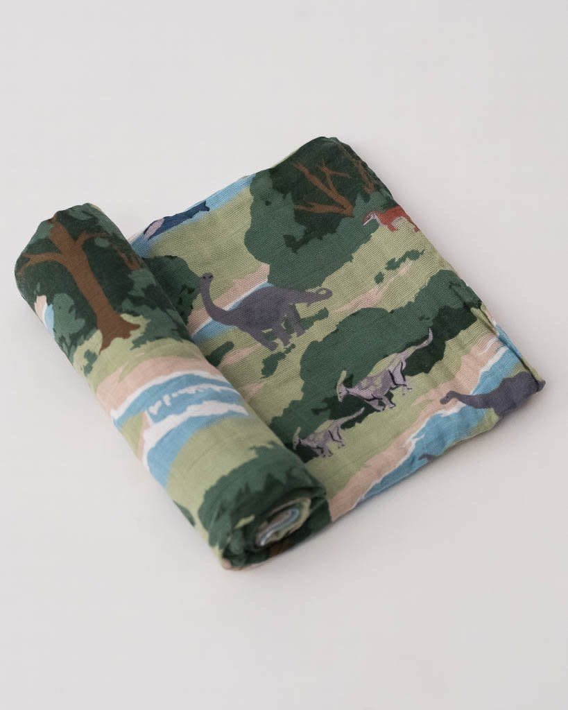 Little Unicorn Swaddle Blanket - Jurassic World