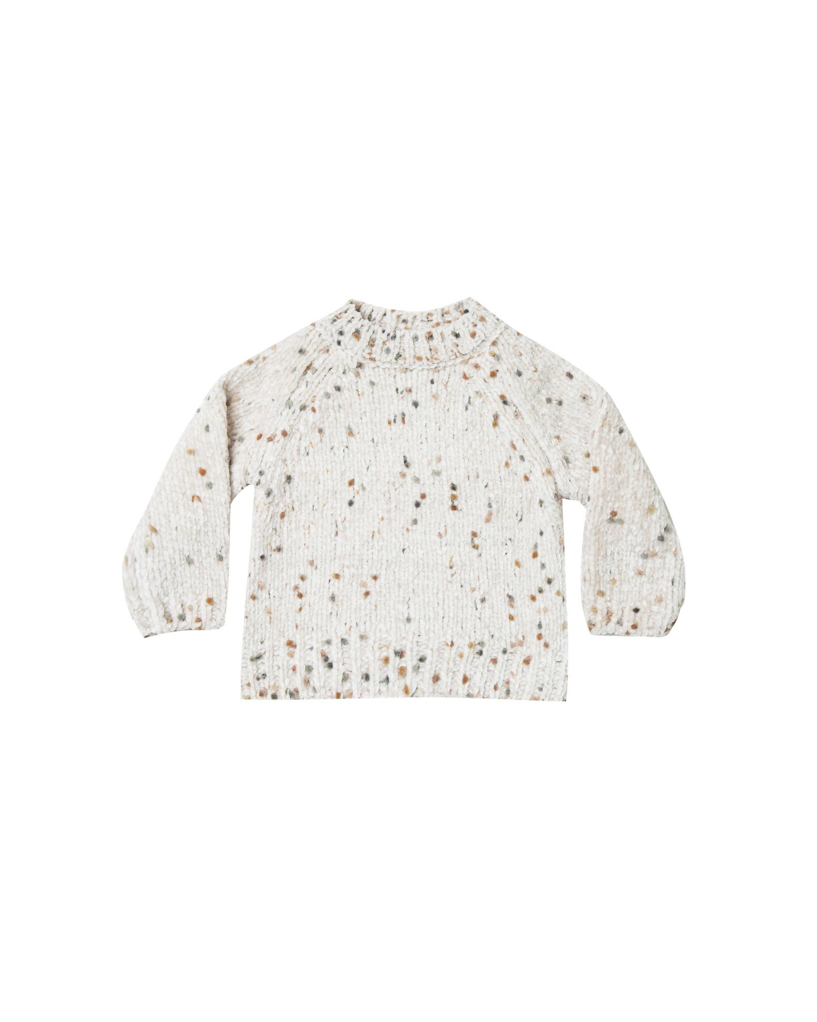 Rylee & Cru Pom Chenille Sweater