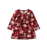 Tea Collection Bhutanese Dragon Smocked Baby Dress