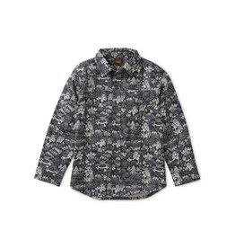 Tea Collection Pagoda Magic Button Up Shirt