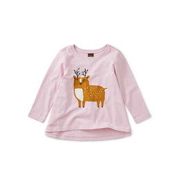 Tea Collection Musk Deer Baby Twirl Tee