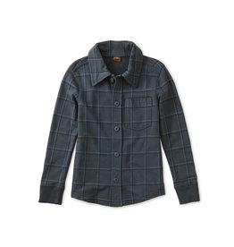 Tea Collection Plaid Button Up Shirt - Windowpane