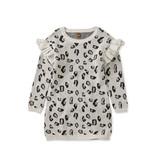 Tea Collection Snow Leopard Sweater Dress