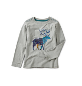 Tea Collection Stag Graphic Tee