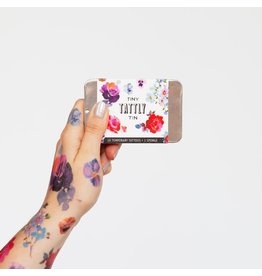 Tattly Tiny Floral Tattoo Tin