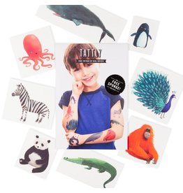 Tattly Tattoo: Wildlife Set