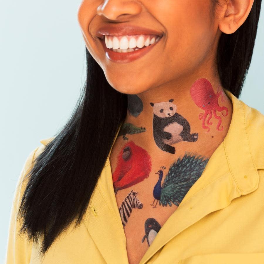 Tattly Tattoo: Wildlife Set
