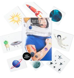 Tattly Space Explorers Set Tattoos