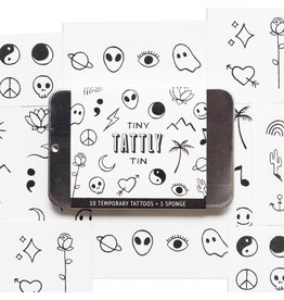 Tattly Tiny Flash Tattoo Tin