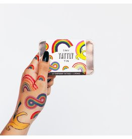 Tattly Tiny Rainbow Tattoo Tin