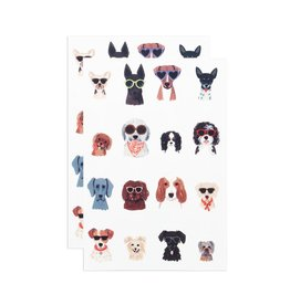 Tattly Dog Days Tattoo Sheet