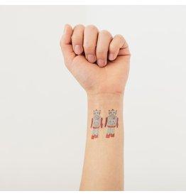 Tattly Robot Tattoos