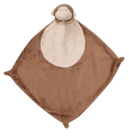 Angel Dear Brown Monkey Blankie