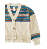 Tea Collection Fairisle Cardigan