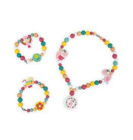 JuraToys (Janod) Birdy Flamingo Beads