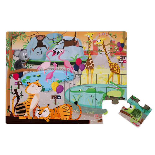 Juratoys Day At The Zoo Tactile Puzzle