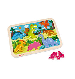 JuraToys (Janod) Dinosaurs Chunky Puzzle