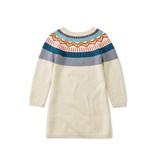 Tea Collection Fox Fairisle Sweater Dress