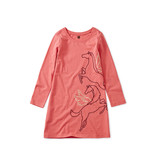 Tea Collection Metallic Wind Horse Dress