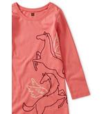 Tea Collection Metallic Wind Horse Dress