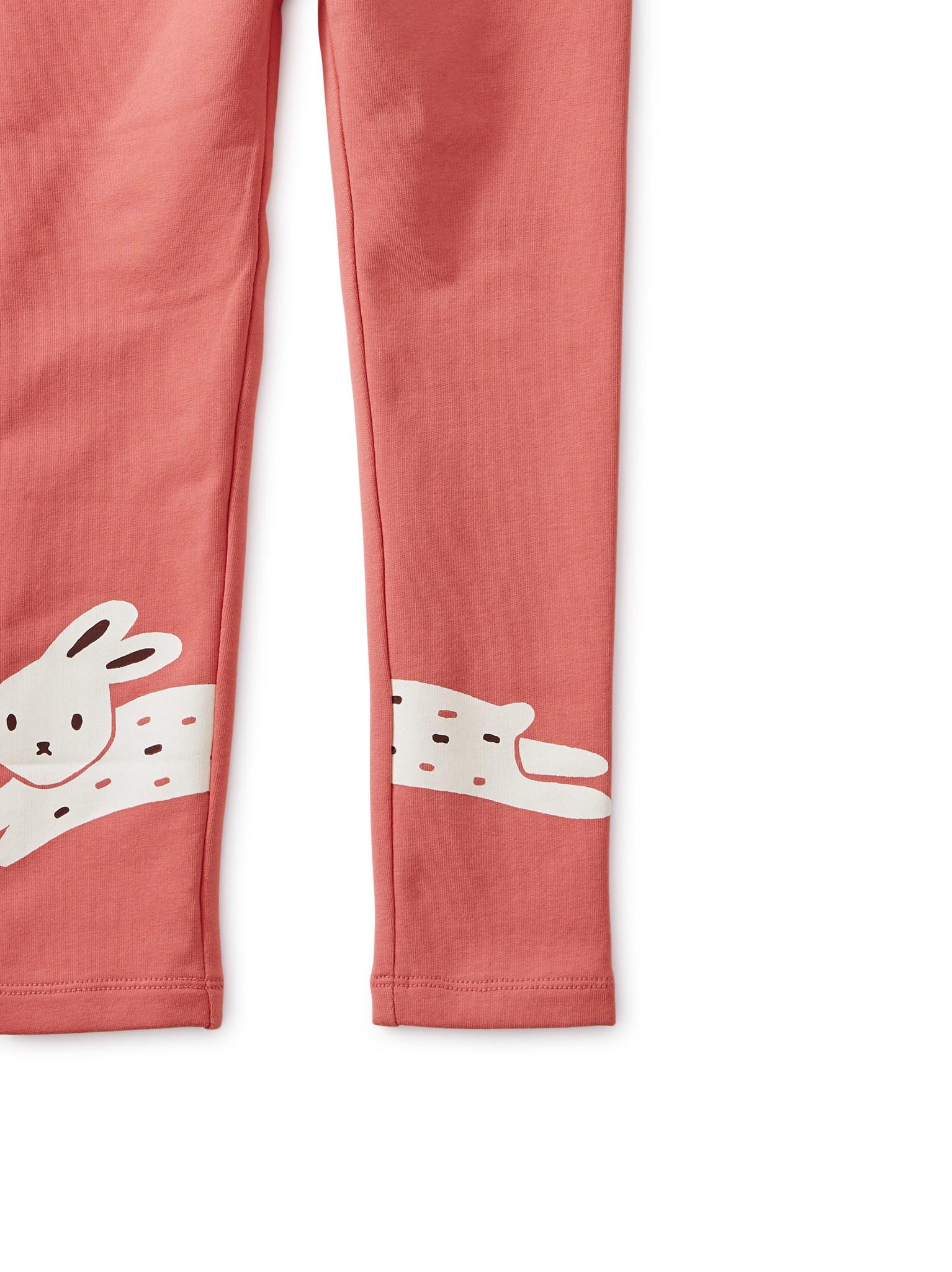 Tea Collection Bunny Rabbit Cozy Leggings