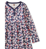 Tea Collection Marigold Flowers Henley Dress