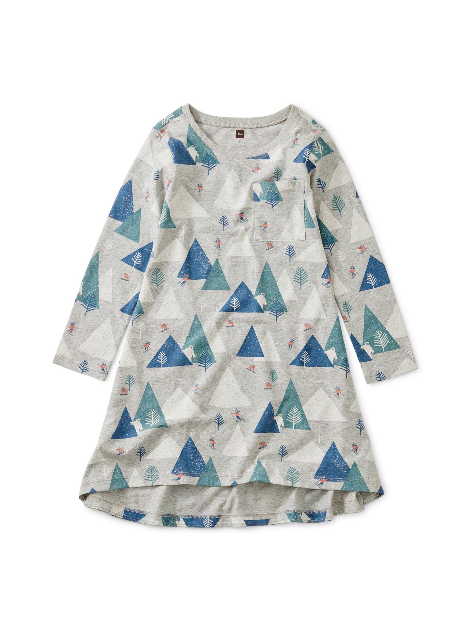 Tea Collection Himalayan Ski Pocket Dress