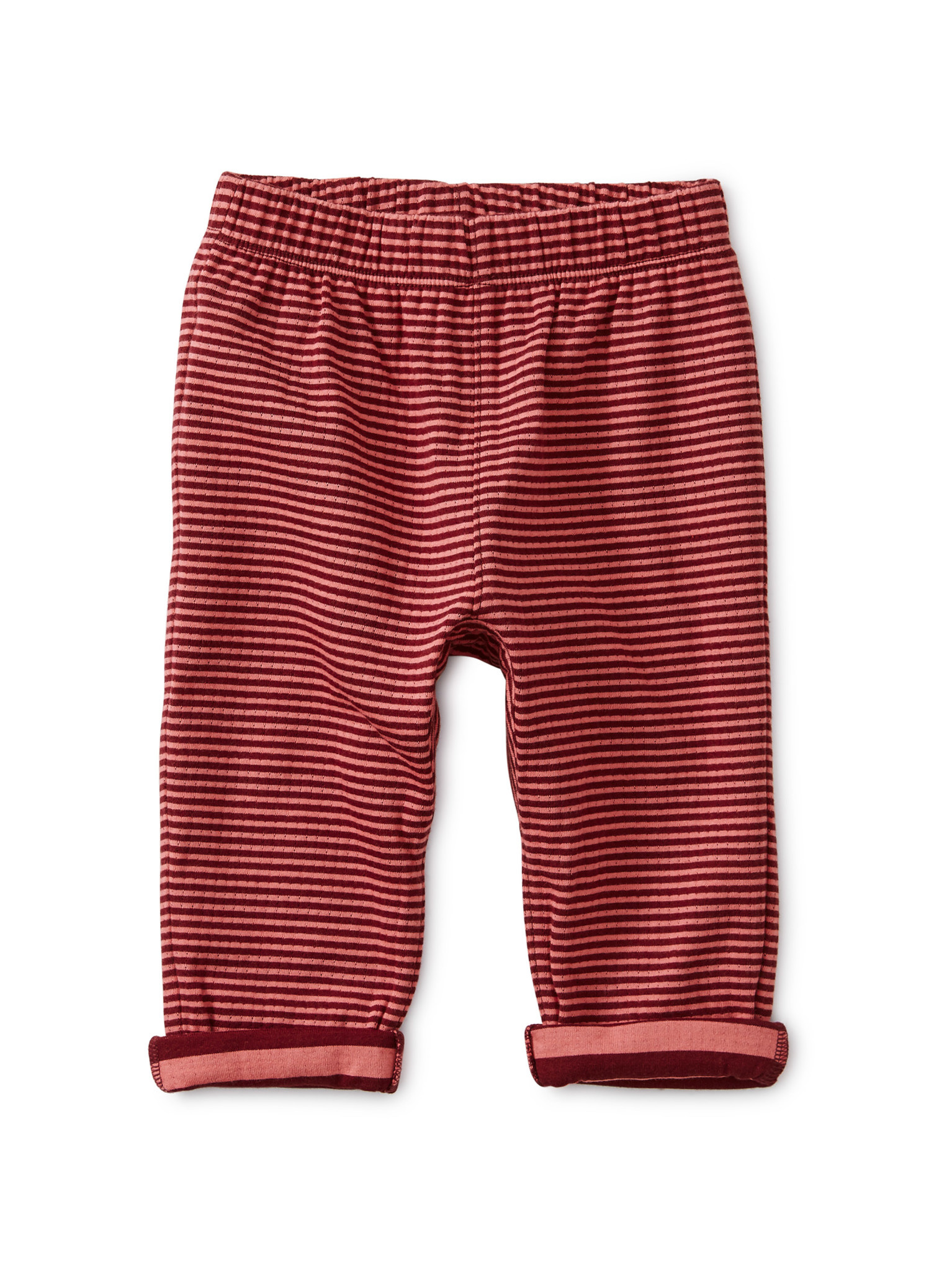 Tea Collection Boysenberry Stripe Double Knit Baby Jogger
