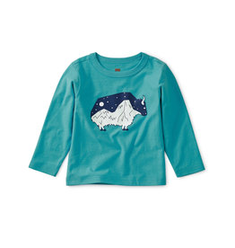 Tea Collection Glow In The Dark Baby Yak Tee