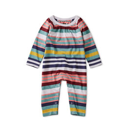Tea Collection Soft Wisteria Striped Romper