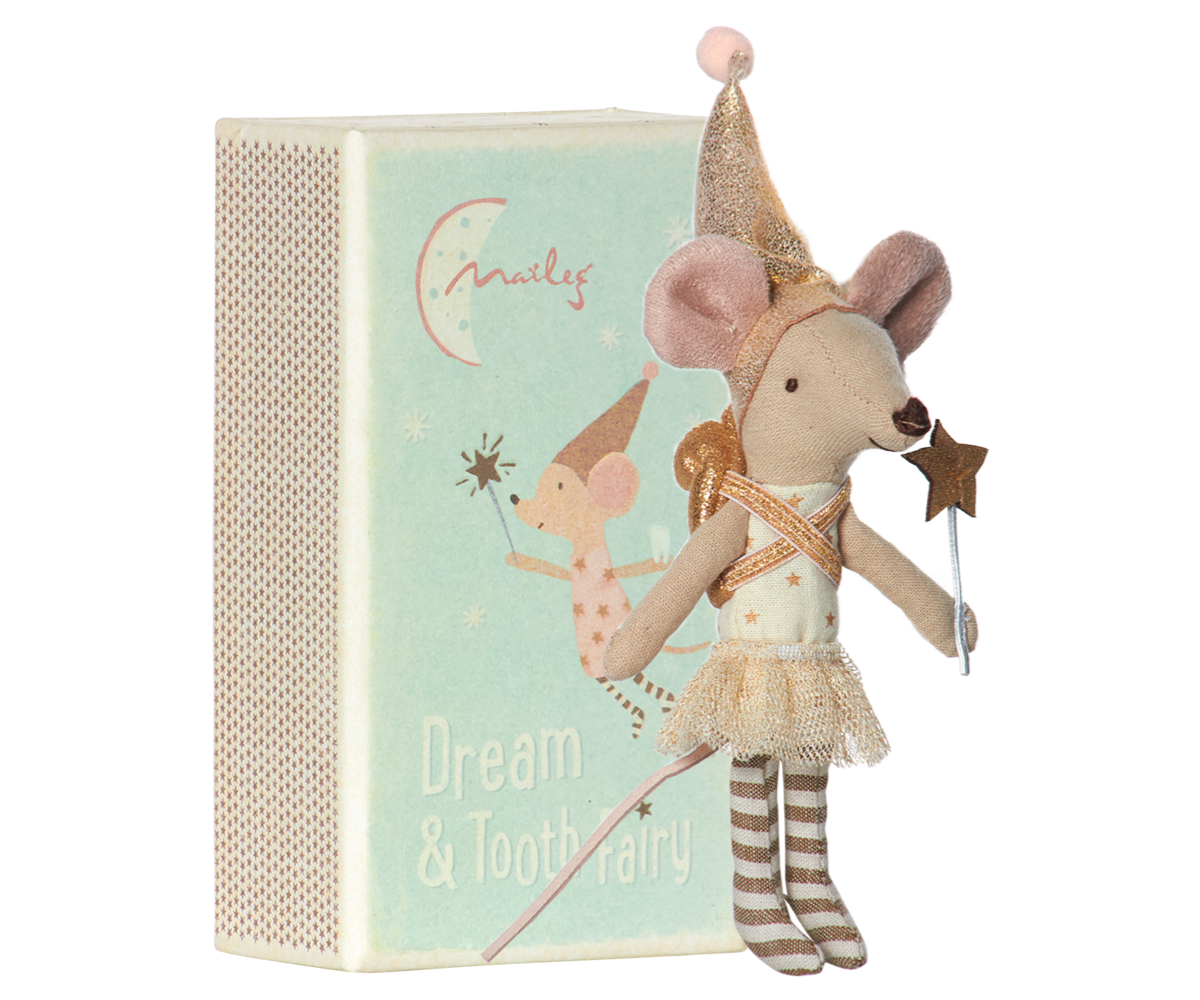 Maileg Tooth Fairy Mouse - Big Sister w/metal box