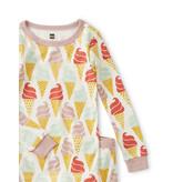 Tea Collection Ice Cream Cone Pajamas
