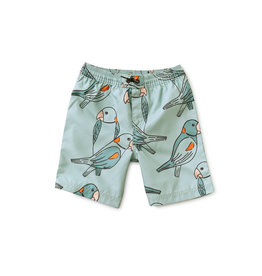 Tea Collection Parakeets Swim Trunk