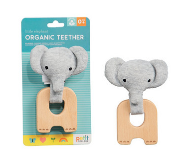 Wild & Wolf Organic Teether - Elephant