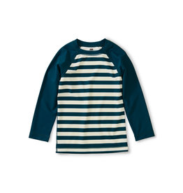Tea Collection Striped Rash Guard