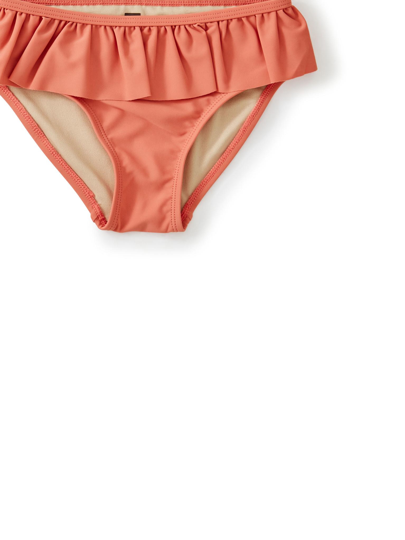 Tea Collection Ruffled Bikini Bottom