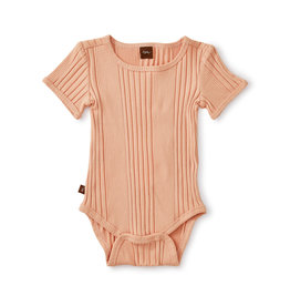 Tea Collection Variegated Rib Bodysuit