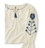 Tea Collection Embroidered Top