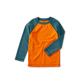 Tea Collection Colorblocked LS Rash Guard